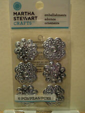 Martha Stewart Reliquia De Diamantes De Imitación Pegatinas BNIP * Para ver *
