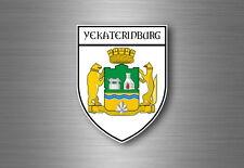 sticker adesivi adesivo stemma etichetta bandiera auto Ekaterinburg russia