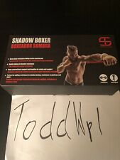 Shadow Boxer Boxing Resistance Training Rubber Band Speed Punching Black