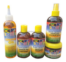 Jahaitian combinazione nero olio di ricino ENERGIZZANTE SHAMPOO & Dreadlocks Care Products