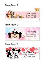 Mickey Amp Minnie Tsum Tsum Address Labels 30 Per Sheet 3 Designs