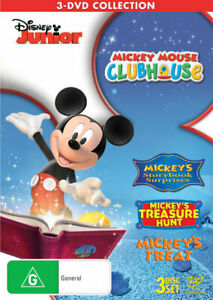 Mickey Mouse Clubhouse Surprise Collection Triple DVD | Region 4