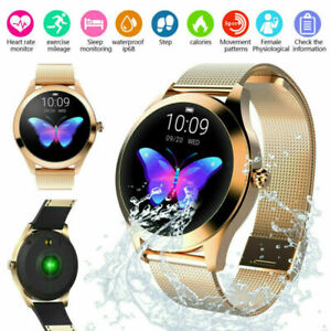 KW10 Smart Watch Ladies IP68 Fitness Tracker Heart Rate Monitor For Android/iOS