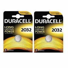 10 X Duracell CR2032 3V Lithium Button Battery Coin Cell DL2032
