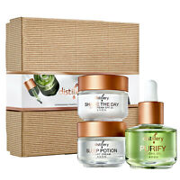 Avon Distillery VEGAN SKINCARE Gift Set - Day Cream + Night Cream + Facial Oil