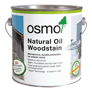 Osmo Natural Oil Woodstain Various Colours (703, 707, 708, 712, 900, 1415)