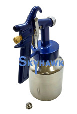 House Low Pressure Air Spray Gun Dual Action Air & Paint  Latex Stains Varnish