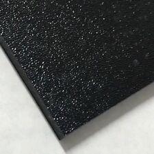 ABS Black Plastic Sheet 1/16