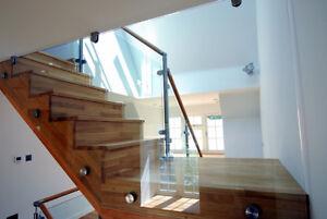 Frameless Clear Plastic Balustrade/Balcony Glass Alternative FAST DELIVERY