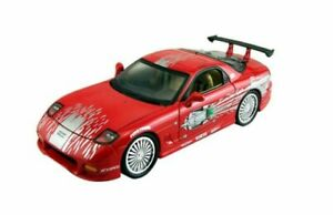 JADA TOYS 98377 Dom's MAZDA RX-7 diecast model from series FAST & FURIOUS 1:32