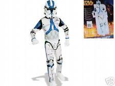 Star Wars Clone Trooper Costume Blue White 4-6 New