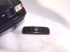 FRONT GRILLE ALL BLACK - 1/18 SCALE