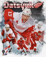 Detroit Red Wings PAVEL DATSYUK Glossy 8x10 Photo Collage Hockey Print Poster