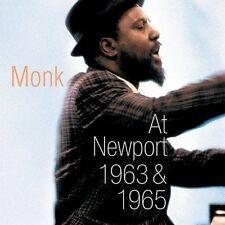 Thelonious Monk : Monk at Newport: 1963 & 1965 Jazz 2 Discs CD