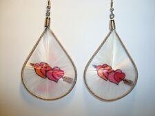 Peruvian Alpaca Silver & Handmade Dreamcatcher Thread  Earrings~CT51~uk seller