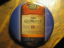 The Glenlivet Single Malt Scotch Whisky Advertisement Pocket Lipstick Mirror