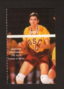 USC Trojans--1996 Volleyball Pocket Schedule