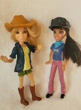 Two Cute Spinmaster Dolls in Hats Great Condition!