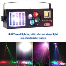U`King 60W 4in1 RGBW DMX Pattern Strobe Laser Stage Lighting KTV DJ Show Light