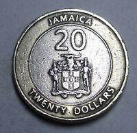 JAMAIKA - 20 DOLLARS 2000 - MARCUS GARVEY - vz / xf