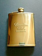 New listing Canadian Club® Reserve Stainless Steel Hip or Pocket Flask 8 oz.