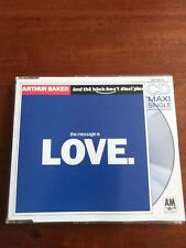 Arthur Baker and the Backbeat Disciples ?? The Message Is Love  - Maxi CD (1989)
