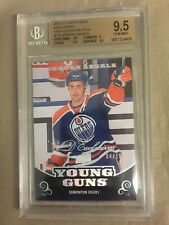 2010-11 UD Jordan Eberle Young Guns Rookie HIGH GLOSS Exclusives 4/10 BGS 9.5
