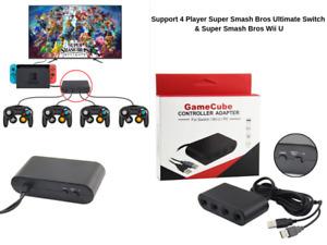 GameCube Controller USB Adapter für Nintendo Switch | Wii U | PC | Bis 4 Player