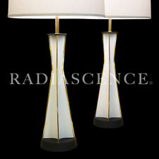 SPACE NEEDLE GERALD THURSTON LIGHTOLIER ATOMIC MODERN PARABOLIC TABLE LAMPS '50s
