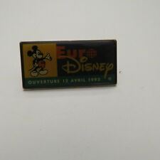 Disney Euro  Mickey Mouse Presenting The Opening  Pin