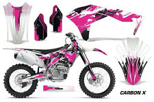 AMR Racing Kawasaki Graphic Kit Bike Decal KXF 250 Decal MX Part 2017 CARBON X P