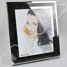Black Diamond Crush Photo Frame (8 x 10) Photoframe Picture Glitter Sparkle