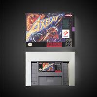 Axelay USA NTSC Version With Retail Box Action Game Super game Nintendo SNES