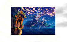 "Disney Tangled Poster 30/"" x 8.5/"" Personalized Custom Name Painting Printing"