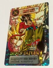Carte dragon ball -  carddass hondan japan part 29  prism N*162 GT