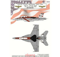 GALAXY G48005 G72006 1/48 1/72 US Navy F/A-18F VFA-41 Black Aces 70 Years Decal