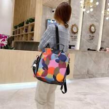 Damen Rucksack Handtasche Diebstahl Wasserdichte Freizeit für Oxford Stoffbeutel