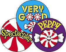 Peppermint Scratch n Sniff - Scented - Reward Stickers
