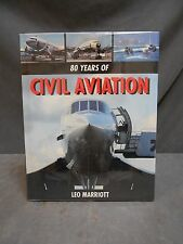 80 Years of Civil Aviation Hardcover Airplane Book