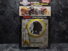 1 washington redskins authentic helmet decal by riddell very rare