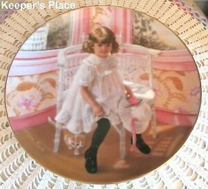 Sandra Kuck EASTER AT GRANDMA'S 6th Issue In Days Gone By Series Collector Plate