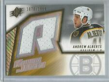 2005-06 UD SPx #137, Andrew Alberts   Rookie Jersey Card  #1870/1999