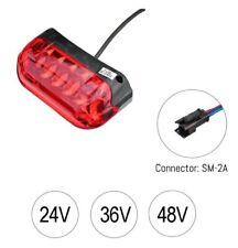 E-Bike Rücklicht Pedelec E-Bike LED 24V/36V/48V Scooter Rückleuchte