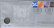 More details for 1999 scottish £1 philatelic numismatic cover | pennies2pounds