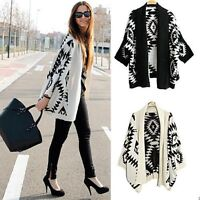 Outwear Women Long Sleeve Knitted Cardigan Loose Sweater Jacket Coat Tops Winter