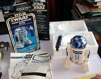 Star wars vintage 1978 robot radio controlled R2-D2 Kenner droid box boite