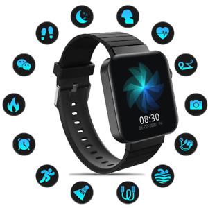 Smartwatch Wasserdicht Sportuhr Pulsuhr Handy Fitness Tracker IP67 Damen Frauen