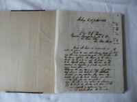 JOURNAL MANUSCRIT FRANCAIS ESPAGNOL MALAGA 1894 A 1897 IMPORT EXPORT COMPTES ETC