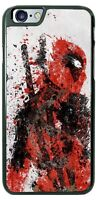Deadpool Paint Design Phone Case Cover for iPhone Samsung Google LG etc.