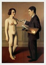 Tentative de L'Impossible by Rene Magritte Art Print Nude Female Poster 20x27.5